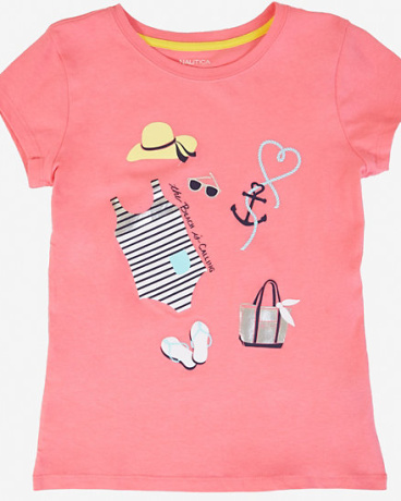 Girls' Beach Graphic Tee (8-16)