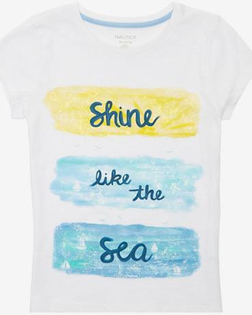 Girls' Shine Like The Sea Tee (8-16)