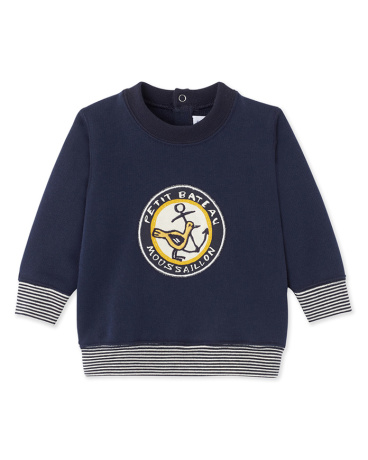 Baby boy's fleece sweatshirt
