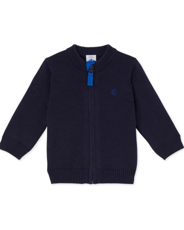 Babies' knitted cardigan