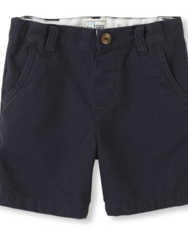 Toddler Boys Woven Chino Shorts