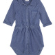 Little Girl Indigo Knit Dress