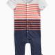 Baby Boy Classic Stripe Romper