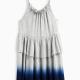 Little Girl Dip Dye Dress