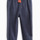 Baby Boy Novelty Brushed French Terry/Mesh Jogger