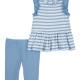 Baby Girl Stripe Dress Set