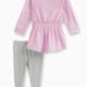 Baby Girl Lurex Dress Set