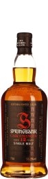 Springbank 12 years Cask Strength 2016 2nd Release 70cl