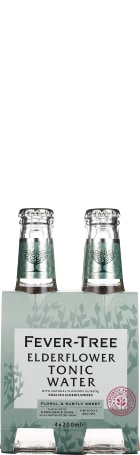 Fever Tree Elderflower Tonic 4-pack 4x20cl