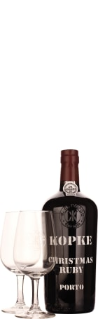 Kopke Christmas Port Giftset 75cl