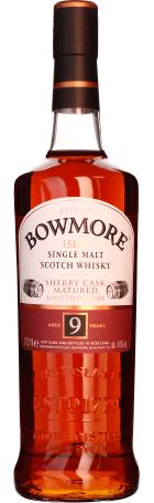 Bowmore 9 years Sherry Cask Single Malt 70cl