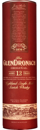 GlenDronach 12 years Original Bottled 2016 70cl