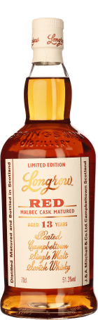 Longrow Red 13 years Malbec Cask Finish 70cl