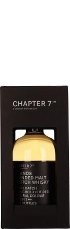 Chapter 7 Island Malt 70cl