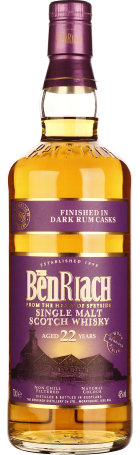 Benriach 22 years Dark Rum 70cl