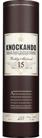 Knockando 15 years 1999 Richly Matured 70cl