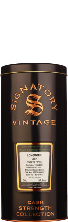 Signatory Longmorn 15 years 2002 Cask Strength 70cl