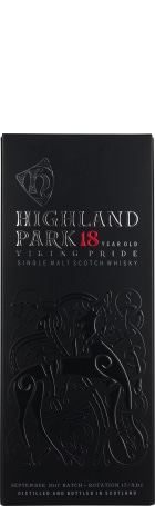 Highland Park 18 years Viking Pride 70cl