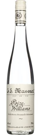 Massenez Poire Williams Eau de Vie 70cl