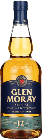 Glen Moray 12 years Single Malt 70cl