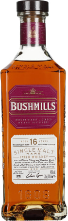 Bushmills 16 years Single Malt 70cl