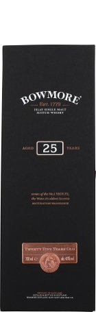 Bowmore 25 years Single Malt 70cl