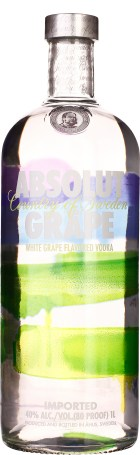 Absolut Grape 1ltr