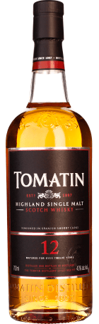 Tomatin 12 years Single Malt 70cl