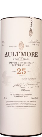 Aultmore Foggie Moss 25 years Single Malt 70cl