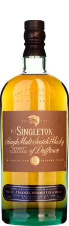 Singleton of Dufftown 15 years Single Malt 70cl