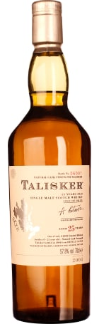 Talisker 25 years Single Malt 2004 70cl