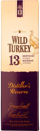 Wild Turkey 13 years Distiller's Reserve 70cl