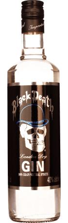 Black Death London Dry Gin 70cl