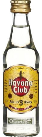 Havana Club Anejo 3anos miniaturen 20x5cl