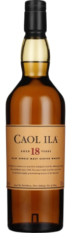 Caol Ila 18 years Single Malt 70cl