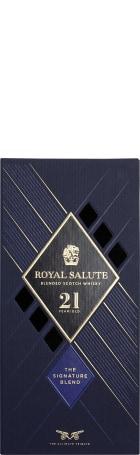 Chivas Regal 21 years Blue Royal Salute 70cl