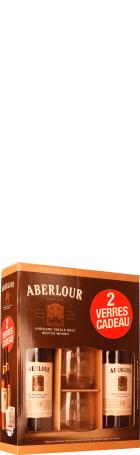 Aberlour 10 years Single Malt Giftset 2x100c