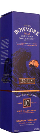 Bowmore 10 years Tempest Batch 6 70cl