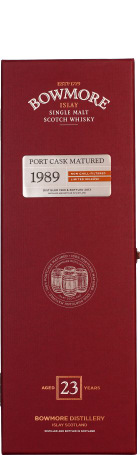 Bowmore 23 years 1989 Port Matured 70cl