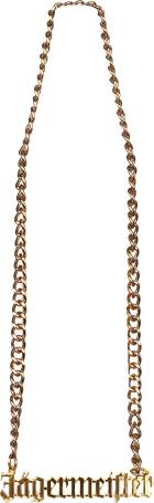 Jägermeister Golden Necklace 1stuk