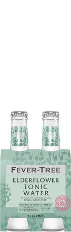 Fever Tree Elderflower Tonic 4-pack 4x20cl