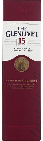 The Glenlivet 15 years French Oak 70cl