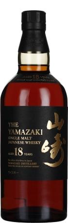 Yamazaki 18 years Single Malt 70cl