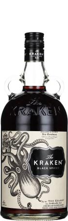 The Kraken Black Spiced Rum 1ltr