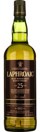 Laphroaig 25 years Single Malt 2015 Release 70cl