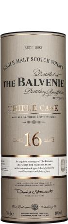 Balvenie 16 years Triple Cask 70cl