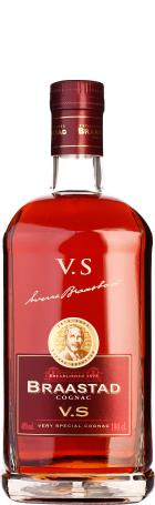 Braastad cognac VS 1ltr