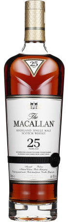The Macallan 25 years Sherry Oak 70cl