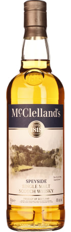 McClelland's Speyside Single Malt 70cl