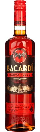 Bacardi Carta Fuego 70cl
